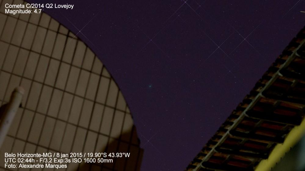 AeroTV - Cometa C/2014 Q2 Lovejoy