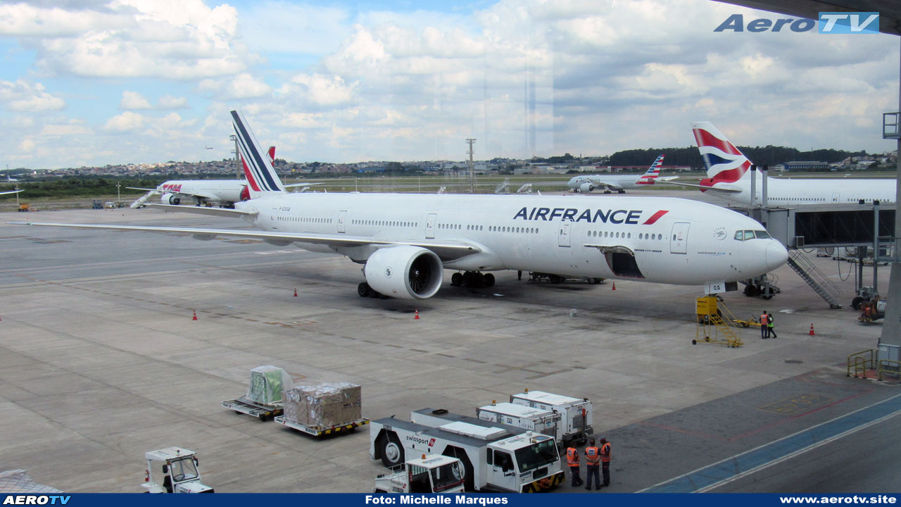 AeroTV - Boeing 777 F GSQA