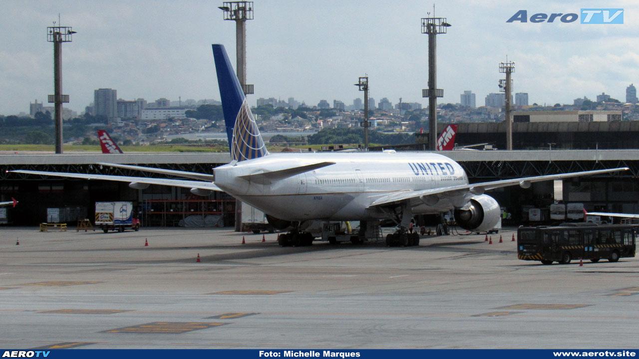 AeroTV - Boeing 777 da United