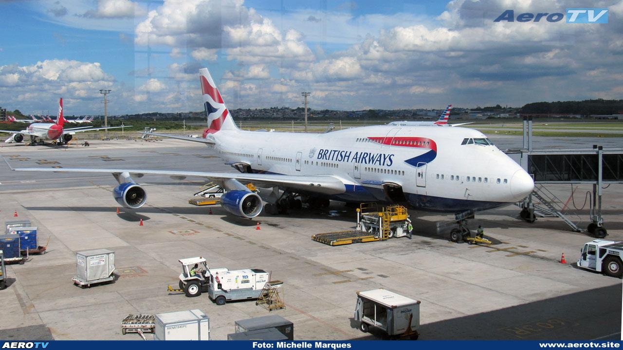 AeroTV - Boeing 747 da Brithish