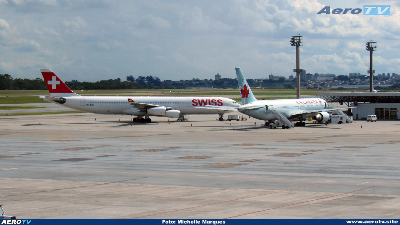 AeroTV - Swissair e Air Canada