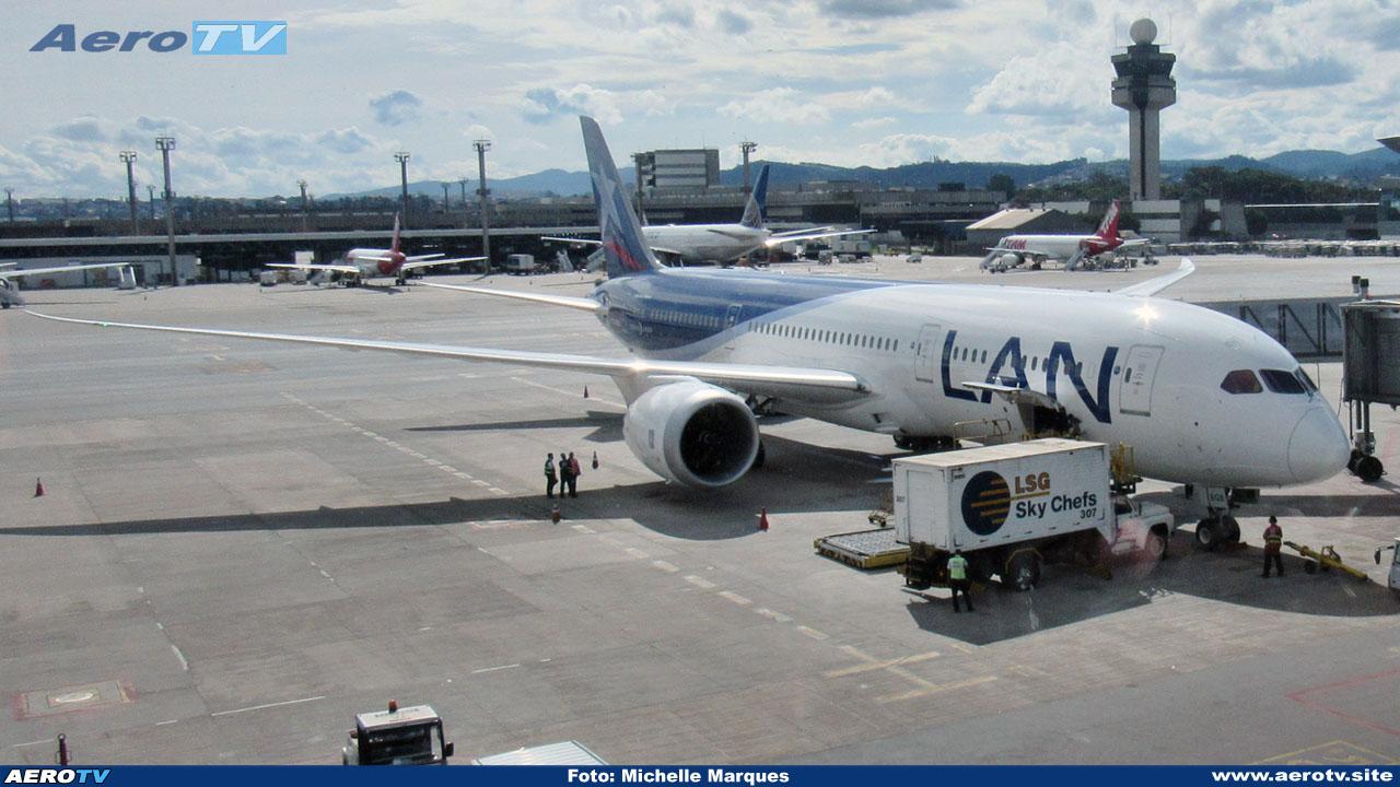 AeroTV - Boeing 787 da Lan