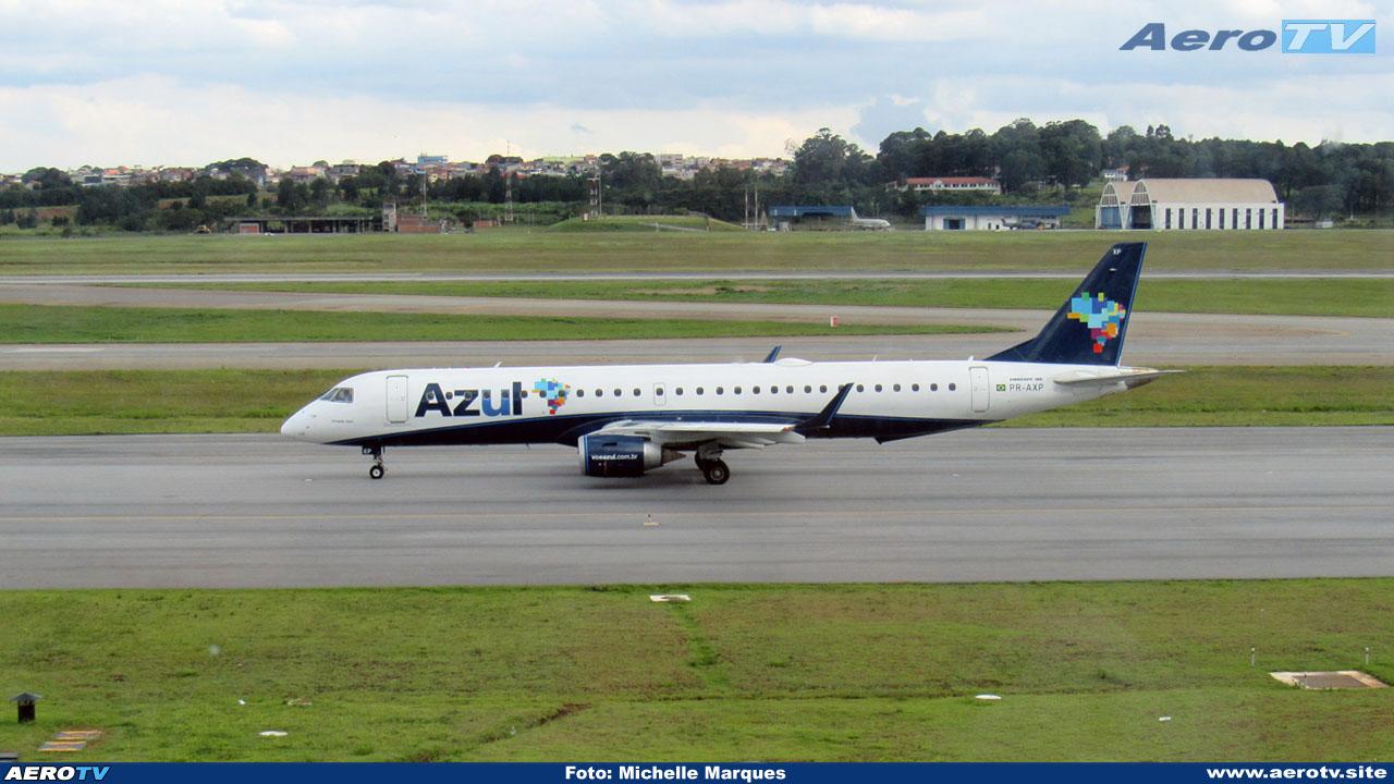 AeroTV - ERJ 195 da Azul