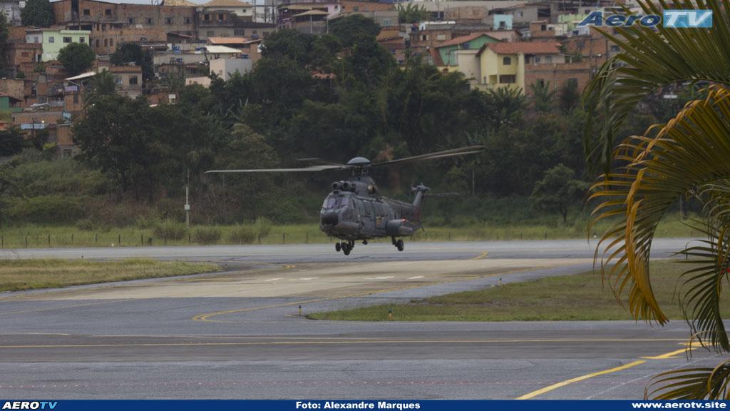AeroTV - Eurocopter EC725 N 7105 Caracal da Marinha em PLU