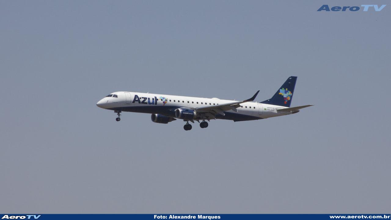 AeroTV - Embraer ERJ 195AR da Azul PR AXP