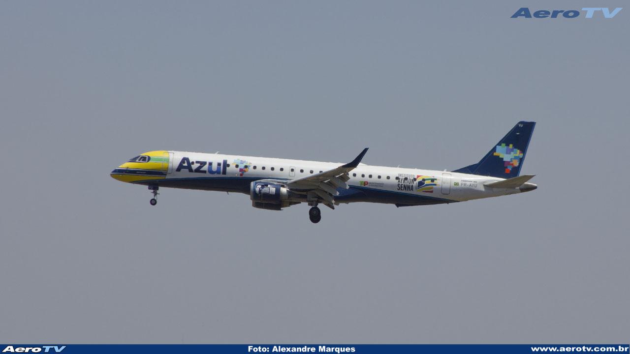 AeroTV - Embraer ERJ 195AR da Azul PR AYU
