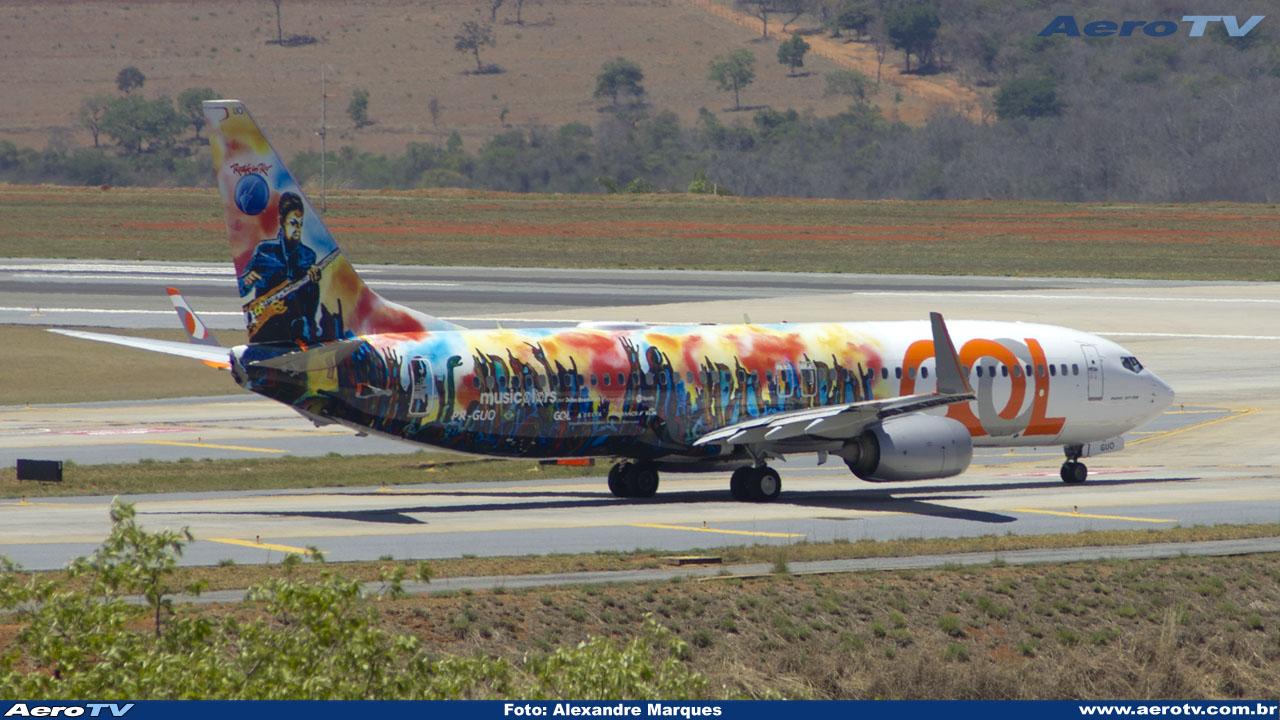 AeroTV - Boeing 737 8EH(WL) da Gol PR GUO