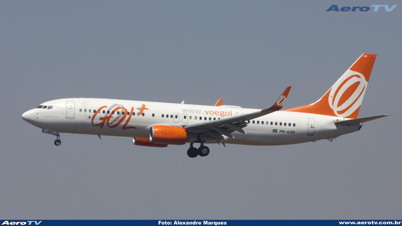 AeroTV - Boeing 737 8EH(WL) da Gol PR GXR