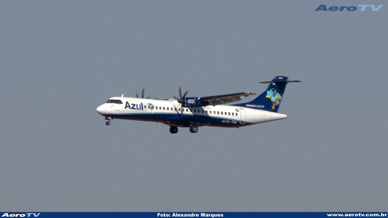 AeroTV - ATR 72 600 da Azul PR TTK