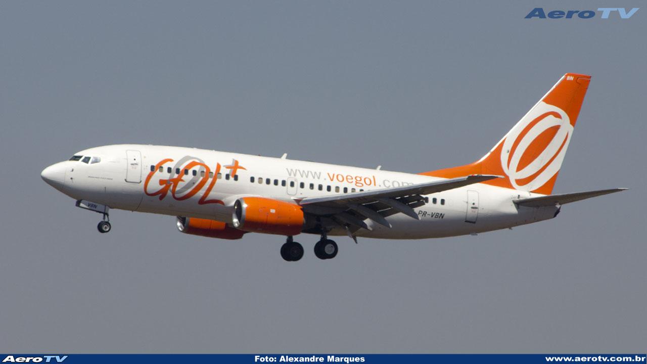 AeroTV - Boeing 737-76N da Gol PR VBN