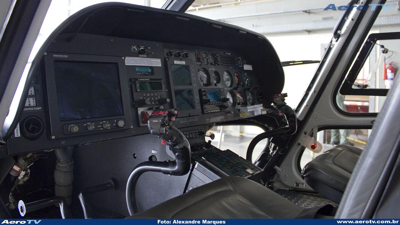 AeroTV - Helicóptero Helibrás AS 350B3 da PMMG PP MMG