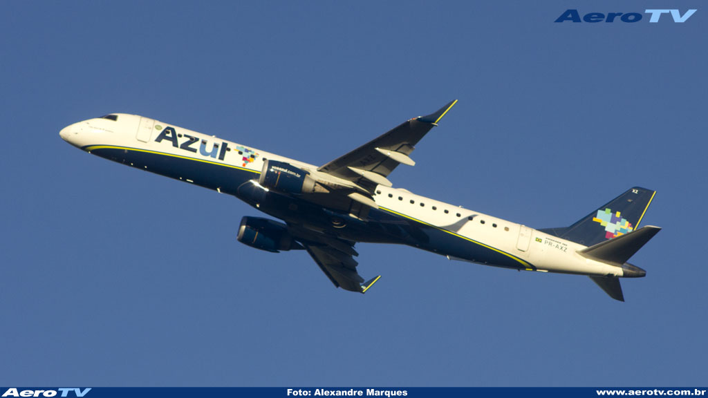 AeroTV - Embraer 195 da Azul PR AXZ