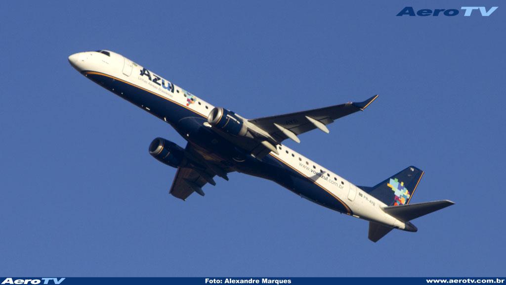 AeroTV - Embraer 195 da Azul PR AYB