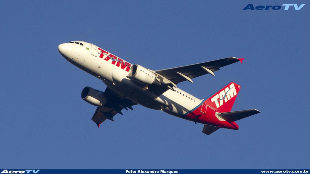 AeroTV - Airbus A319 PR MYC da Tam