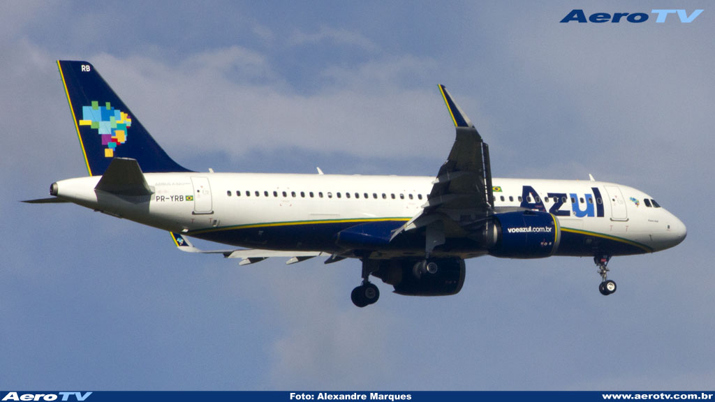 AeroTV - Airbus A320neo da Azul PR YRB