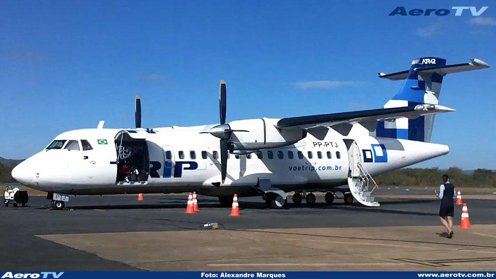 AeroTV - ATR 42 matrícula PP PTJ da Trip