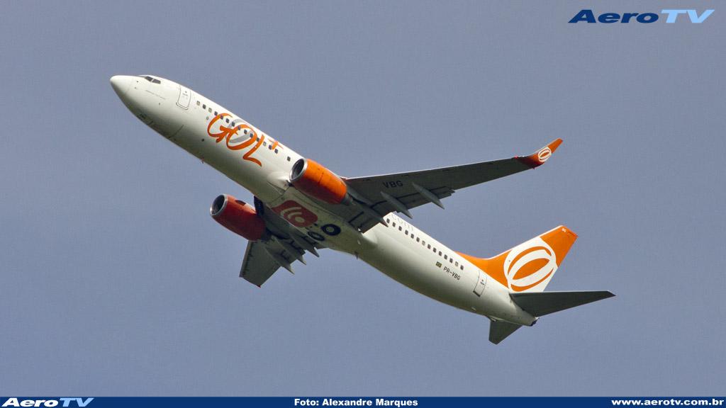 AeroTV - Boeing 737 da Gol matrícula PR VGB