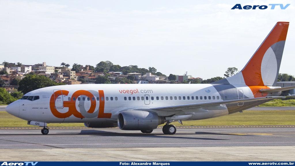 AeroTV - Boeing 737 da Gol matrícula PR GIG