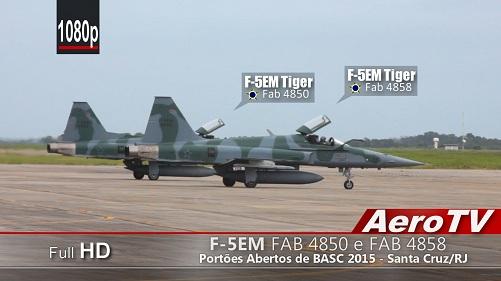 F-5EM Tiger II em BASC