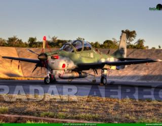 AeroTv - A-29B Super Tucano Fab 5964, novo avião da Esquadrilha da Fumaça antes da pintura