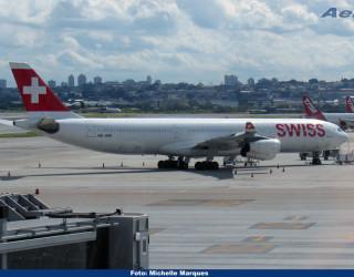 AeroTv - Airbus A340 da Swissair