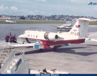 AeroTv - Learjet 55 PT-LEL