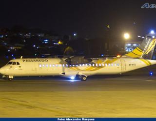 AeroTv - ATR 72 500 da Passaredo PP PTO Araponga