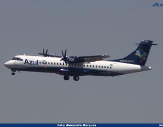 AeroTv - ATR 72 600 da Azul PR AQR