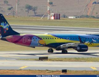AeroTv - Embraer ERJ 195AR da Azul PR AXH