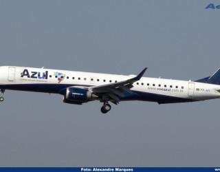 AeroTv - Embraer ERJ 195AR da Azul PR AYI