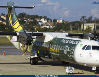 AeroTv - ATR 72 500 da Passaredo PP PTP