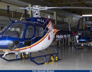 AeroTv - Helicóptero Helibrás AS 350B2 da PMMG PP EJL