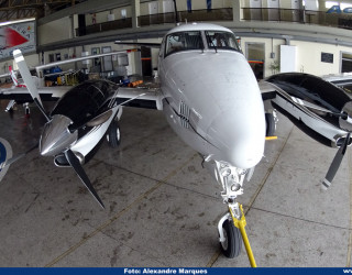 AeroTv - King Air C90 PR-OSO da PMMG