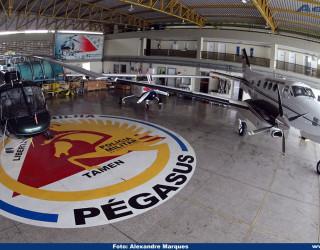 AeroTv - Hangar do Corpaer no aeroporto da Pampulha