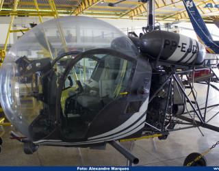 AeroTv - Helicóptero Bell 47 PP EJD da PMMG