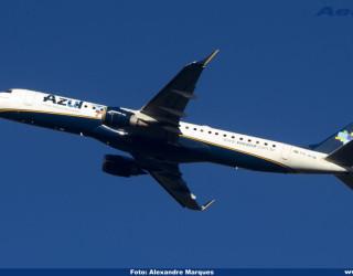 AeroTv - Embraer 195 da Azul PR AYW