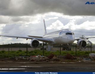 AeroTv - Airbus A350 matrícula PR XTD da Tam