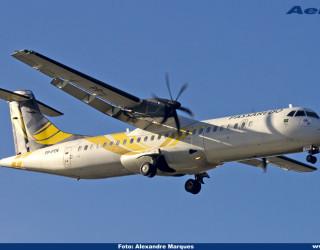 AeroTv - ATR 72-500 da Passaredo matricula PP-PTN