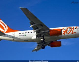 AeroTv - Boeing 737 da Gol PR-GOQ