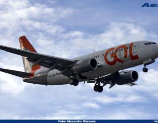 AeroTv - Boeing 737 da Gol PR GON