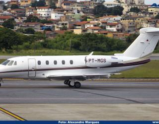 AeroTv - Cessna 650 Citation VII matrícula PT MGS