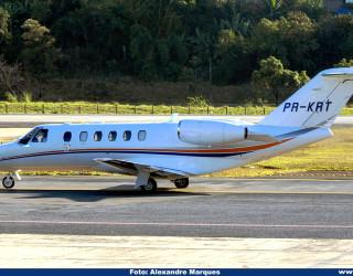 AeroTv - Cessna 525A CitationJet CJ2 matrícula PR KRT