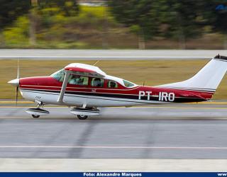 AeroTv - Cessna 206 Stationair matrícula PT IRO