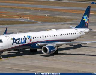 AeroTv - Embraer 195 PR-AUB da Azul