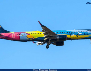 AeroTv - Embraer 195 PR-AXH da Azul