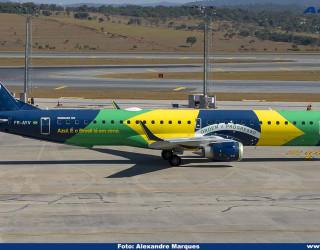 AeroTv - Embraer 195 PR-AYV da Azul