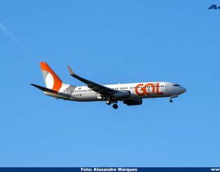 AeroTv - Boeing 737-800 da Gol PR-GGU