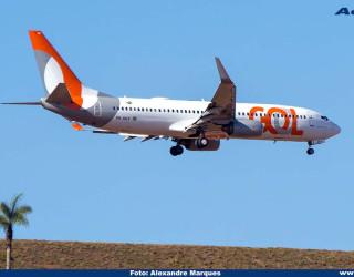 AeroTv - Boeing 737-800 da Gol PR-GGY