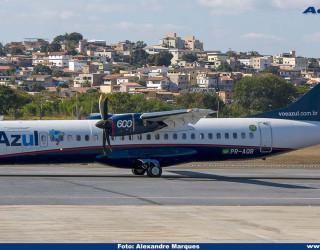 AeroTv - ATR 72-600 da Azul PR-AQB