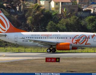 AeroTv - Boeing 737-7BX PR-VBX da Gol